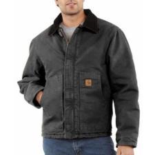 Carhartt Sandstone Duck Arctic Quilt Lined Jackets - Irregular J22IRR