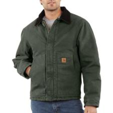 Carhartt Men's Sandstone Duck Arctic Quilt Lined Traditional Jackets J22