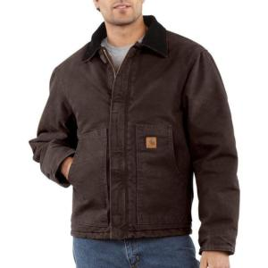 Carhartt Sandstone Duck Arctic Quilt Lined Jackets - Irregular