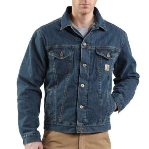 Carhartt Sherpa Lined Denim Jean Jackets