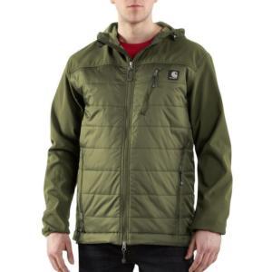 Carhartt Men's Soft Shell Hybrid Jacket - Irregular