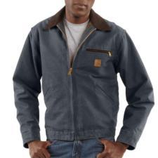 Carhartt Blanket Lined Sandstone Duck Detroit Jackets - Irregular J97IRR