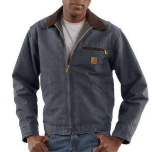 Carhartt Blanket Lined Sandstone Duck Detroit Jackets - Irregular