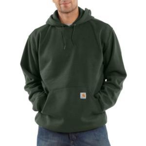 Carhartt Men S Midweight Hooded Pullover Sweatshirt K121