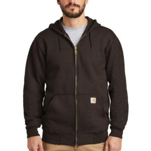 Carhartt Midweight 10.5 oz. Zip-Front Hooded Sweatshirt - Irregular