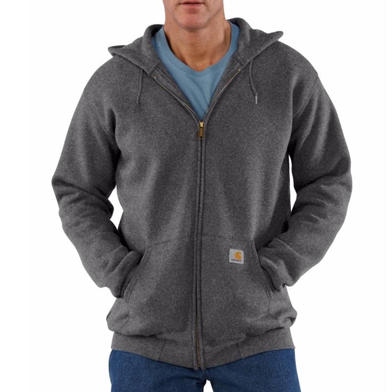 Carhartt Midweight 10.5 oz. Zip-Front Hooded Sweatshirt -...