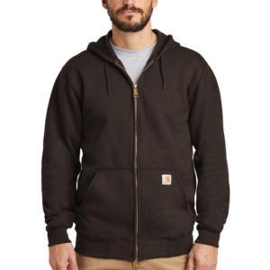 Carhartt Midweight 10.5 oz. Zip-Front Hooded Sweatshirt - Irregular