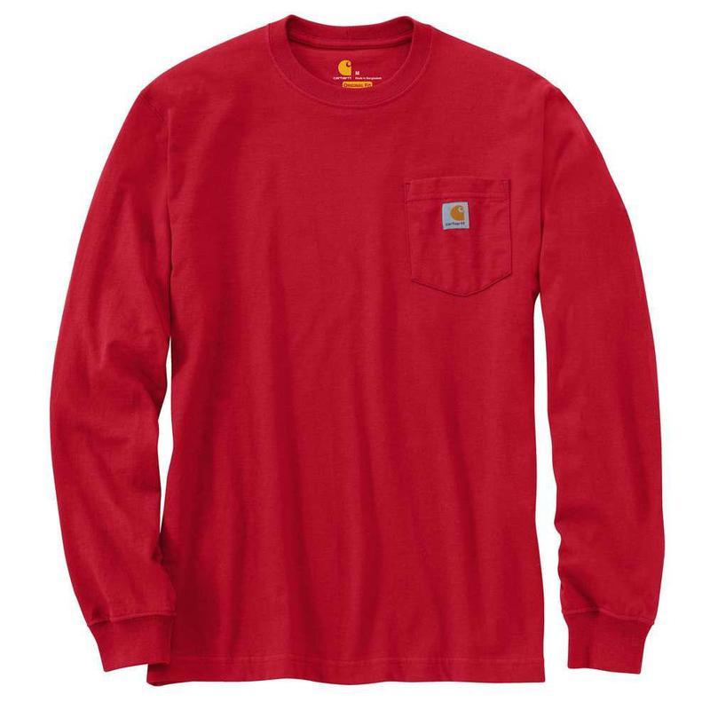 19648056600 Carhartt Men s Long Sleeve Workwear T-Shirt - Irregular K126irr