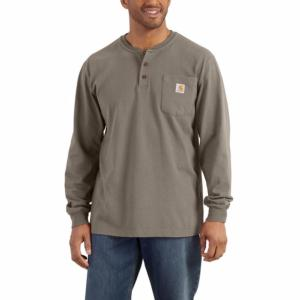 Carhartt Long Sleeve Workwear Henley Shirt - Irregular