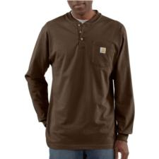 Carhartt Men's Long Sleeve Workwear Henley Shirt K128