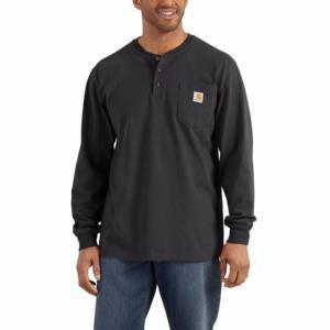 Carhartt Long Sleeve Workwear Henley Shirt - Irregular