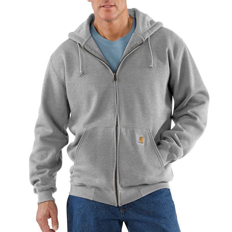 Carhartt Heavyweight  Zip-Front Hooded Sweatshirt - Irreg...