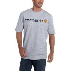 Carhartt Signature Short-Sleeve  Logo T-Shirt