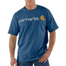 Carhartt Short-Sleeve Logo T-Shirt - Irregular K195irr