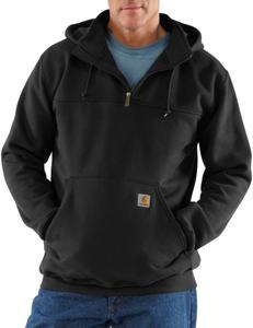 Carhartt  Heavyweight Hooded Zip-Mock Sweatshirt - Irregular