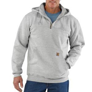 Carhartt  Heavyweight Hooded Zip-Mock Sweatshirt (K217 - 100617) - Irregular