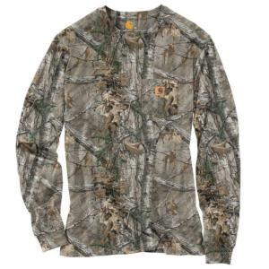 Carhartt Work Camo Long Sleeve T-Shirt