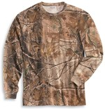 Carhartt Work Camo Long Sleeve T-Shirt K285