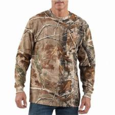 Carhartt Work Camo Long Sleeve T-Shirt - Irregular K285irr