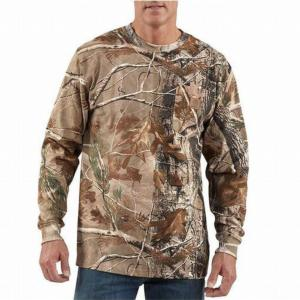 Carhartt Work Camo Long Sleeve T-Shirt - Irregular