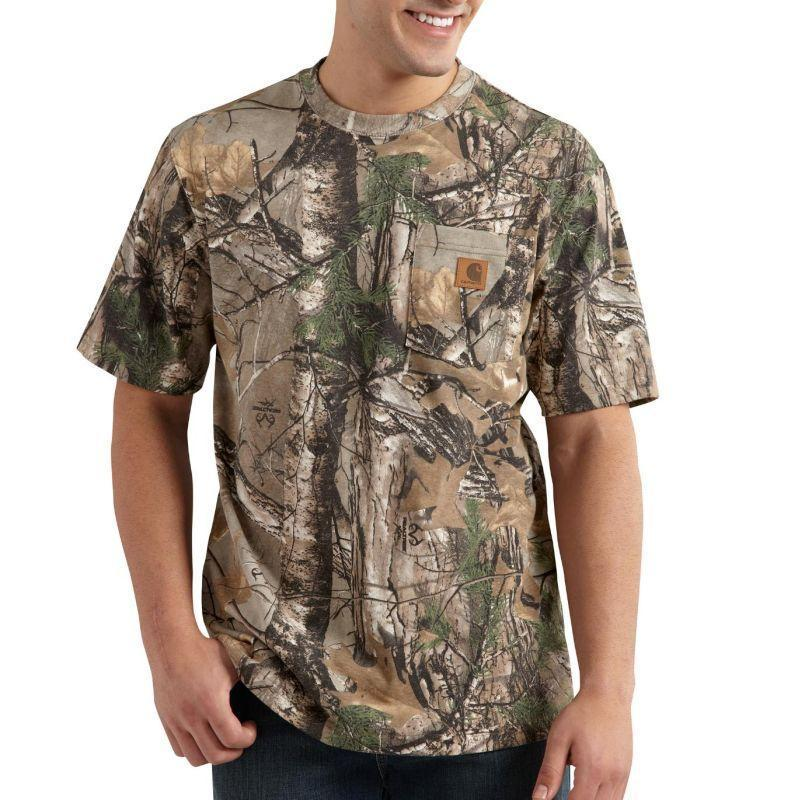 Carhartt Work Camo Short Sleeve T-Shirt