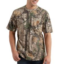 Carhartt Work Camo Short Sleeve T-Shirt K287