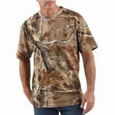 Carhartt Work Camo Short Sleeve T-Shirt - Irregular K287irr