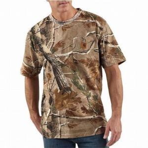 Carhartt Work Camo Short Sleeve T-Shirt - Irregular