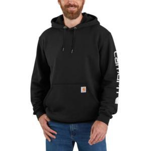 Carhartt Midweight Hooded Logo Sleeve Sweatshirt - Irregular