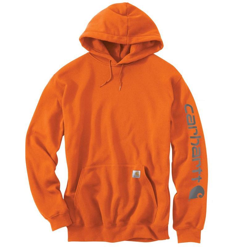 f6cf50ff4d9 Carhartt Midweight Hooded Logo Sleeve Sweatshirt - Irregular K288irr