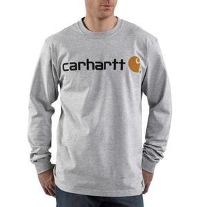 Carhartt Long Sleeve Logo T-Shirt - Irregular