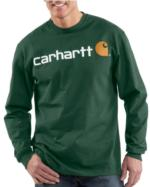 Carhartt_Carhartt Long Sleeve Logo T-Shirt - Irregular