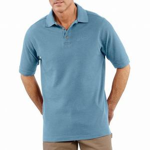 Carhartt Pique-Knit Short-Sleeve Polo Shirt - Irregular