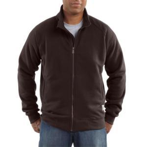 Carhartt Midweight Mock Neck Zip-Front Sweatshirt