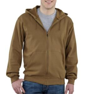 Carhartt Men's Lightweight Hooded Zip-Front Sweatshirt