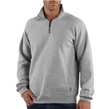 Carhartt Men's Midweight Quarter-Zip Mock-Neck Sweatshirt K503