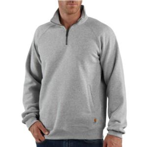 Carhartt Men's Midweight Quarter-Zip Mock-Neck Sweatshirt