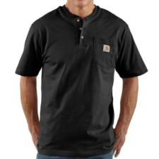 Carhartt K84 Mens Short Sleeve Workwear Henley K84