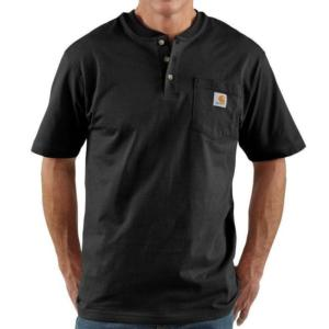 Carhartt K84 Men's Short Sleeve Workwear Henley