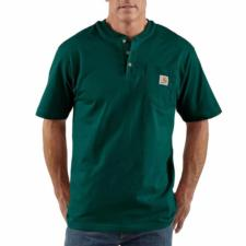 Carhartt K84 Men's Short Sleeve Workwear Henley K84