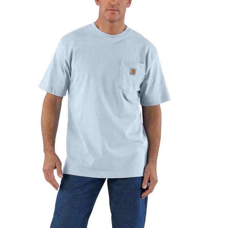 Carhartt® Men/'s Workwear Short-Sleeve Pocket Tee Shirt Desert Size 3XLT