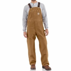 Carhartt Men's Duck Bib Overalls - Unlined