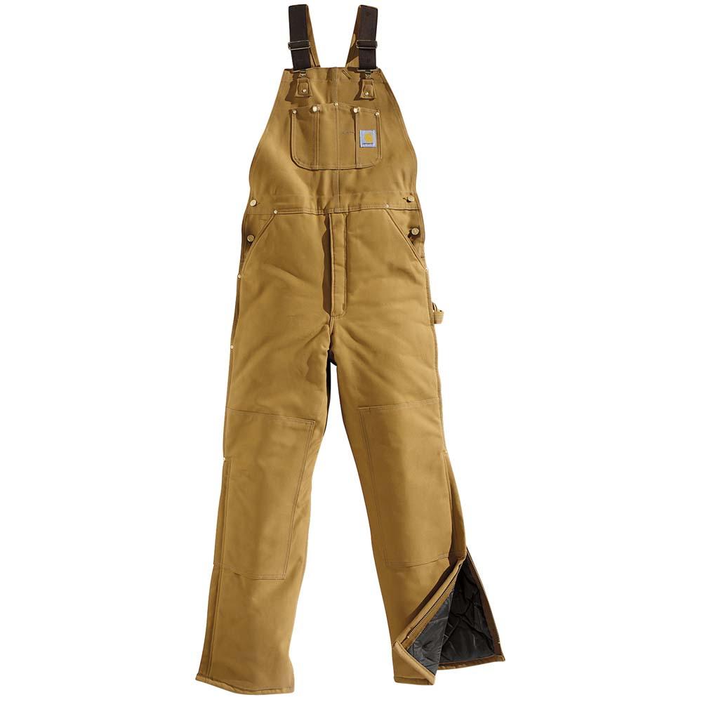 Carhartt Men's Arctic Bib Overalls - Quilt Lined