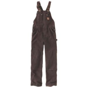 Carhartt Men's Sandstone Duck Bib Overalls - Unlined