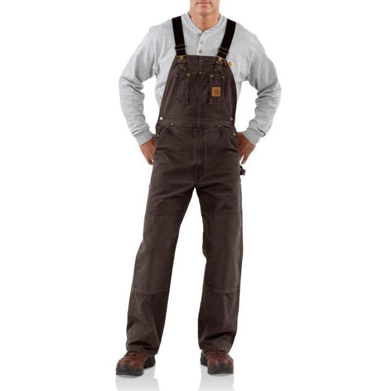Dark brown pants for men