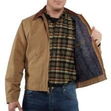 Carhartt Weathered Duck Detroit Jackets - Irregular RNJ001IRR