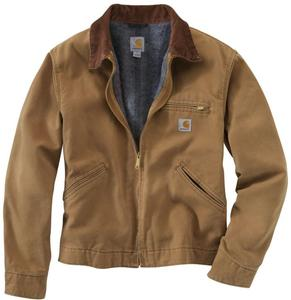Carhartt Men's Naturally Worn Duck Detroit Jacket