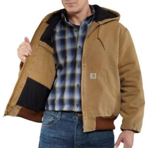 Carhartt Men's Naturally Worn Duck Active Jac