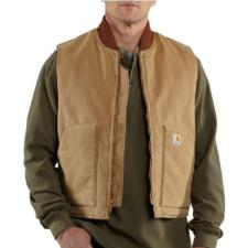 Carhartt Men's Naturally Worn Arctic Quilt Lined Vest RNV01