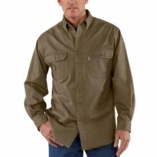 Carhartt Sandstone Twill Shirts - Relaxed Fit - Irregular S09IRR